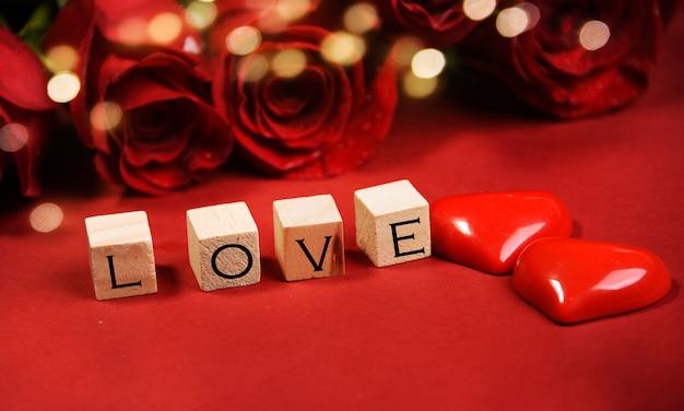 Feiertagshintergrund für valentinstag
