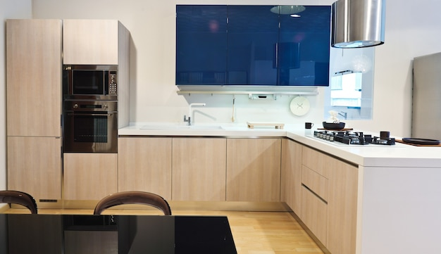 Feines bild der modernen küche