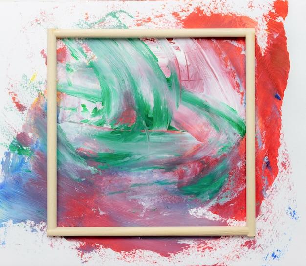 Feld aquarellkunsthandfarbenzusammenfassung und hintergrund oder tapete