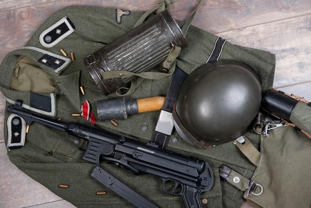 Feldausrüstung der bundeswehr.