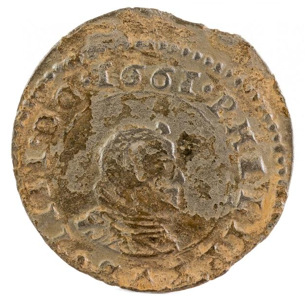 Felipe iv münze