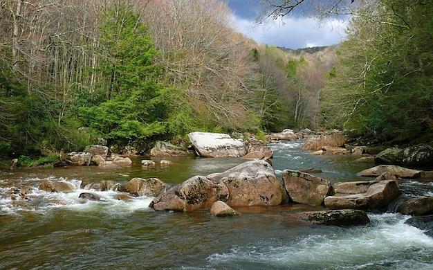 Felsen landschaft natur rand fluß