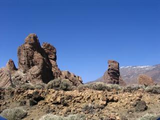 Felslandschaft steinen
