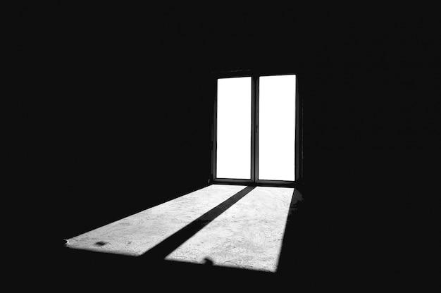 Fenster, die einen raum leuchtet
