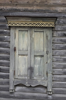 Fenster eines alten hauses.
