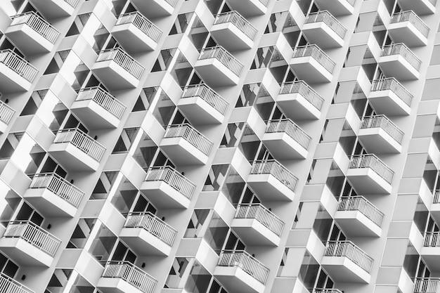 Fenstermuster des gebäudes