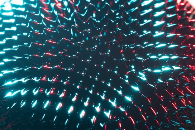 Ferromagnetische metallsubstanz der nahaufnahme