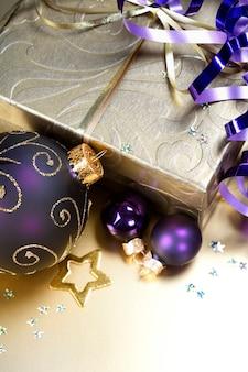 Festliche weihnachtsdekoration