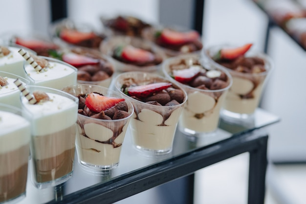Festliches süßes buffet