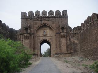 Festung rohtas pakistan, eingang