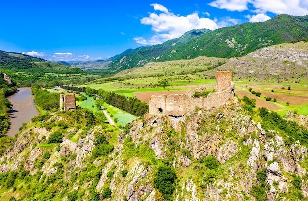 Festung slesa oder moktseva in samzche-dschawachetien, georgien