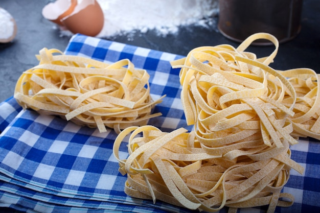 Fettuccine, italienische pasta