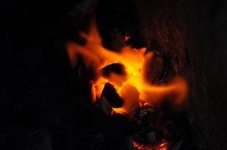 Feuer kohlen