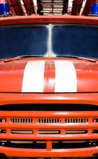 Feuerwehrauto sicherheit
