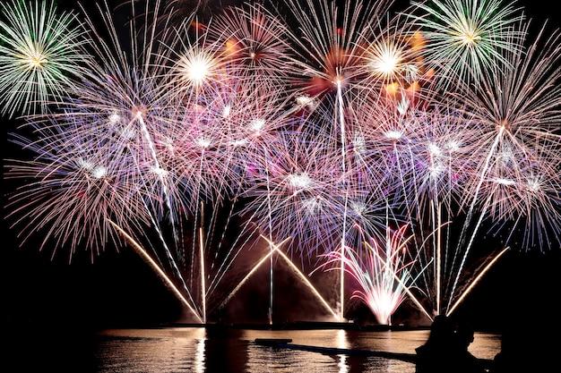 Feuerwerk oder feuerwerkskörper.