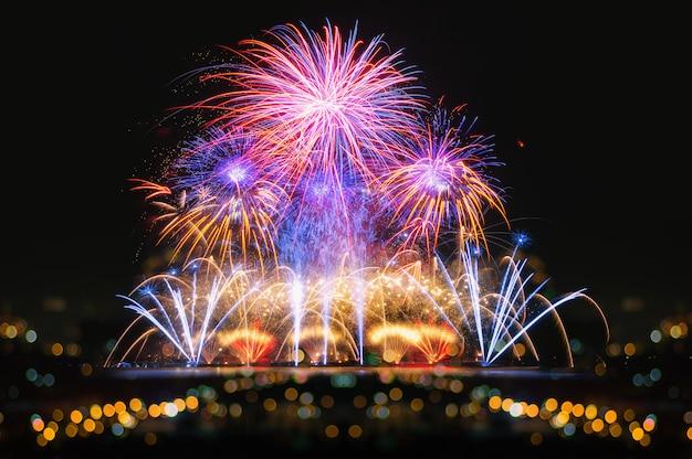 Feuerwerk zum feiern