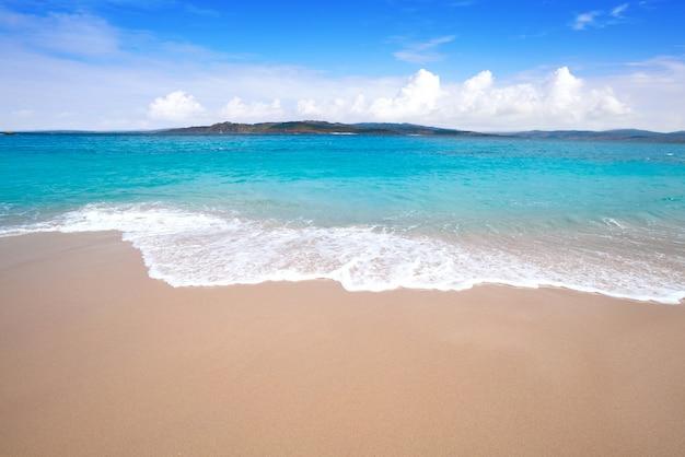 Figueiras fkk-strand in islas cies, insel vigo