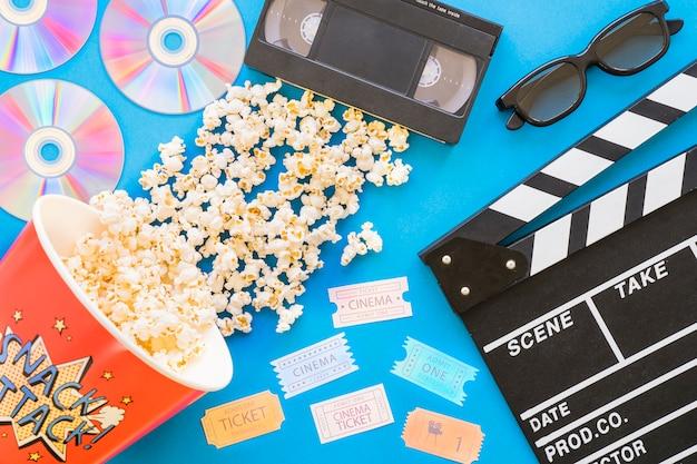 Film- und kino-konzept