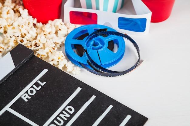 Filmrolle und kino zeug