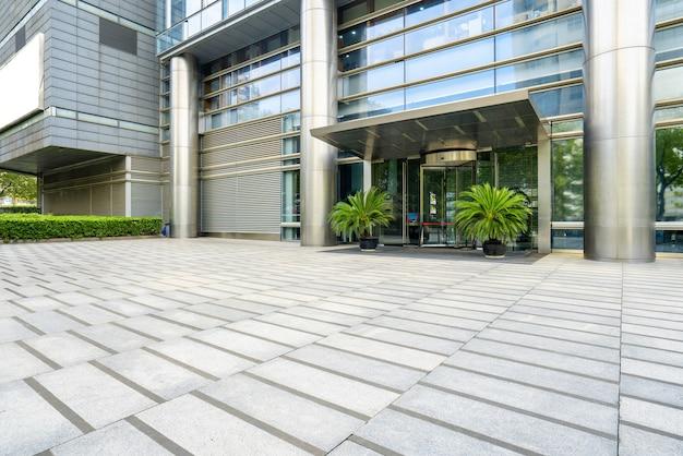 Financial center plaza und bürogebäude