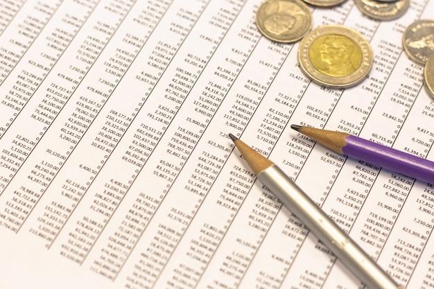 Finanzanalyse der unternehmensfinanzplanung für unternehmenswachstum