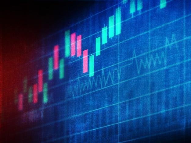 Finanzdiagramme und grafiken