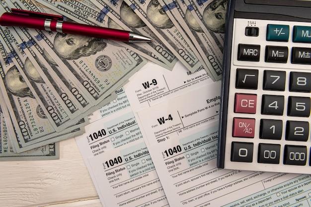 Finanzdokument, buchhaltung geldrechner besteuerung füllen 1040