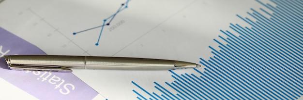 Finanzdokumente und statistikdaten