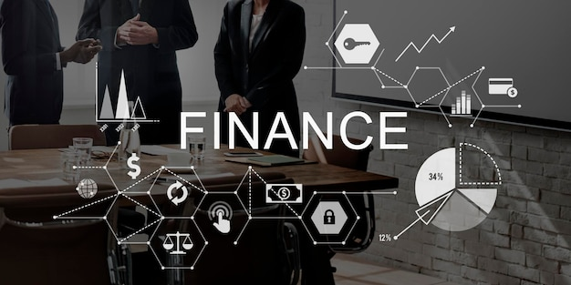 Finanzen sie geld-schulden-guthaben-konzept