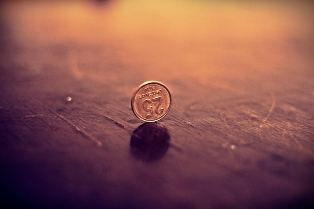 Finanzielle penny geld münzgeld metall