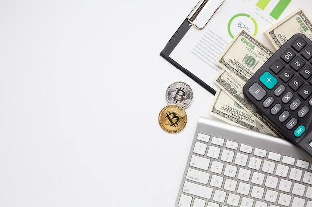Finanzposten mit textfreiraum