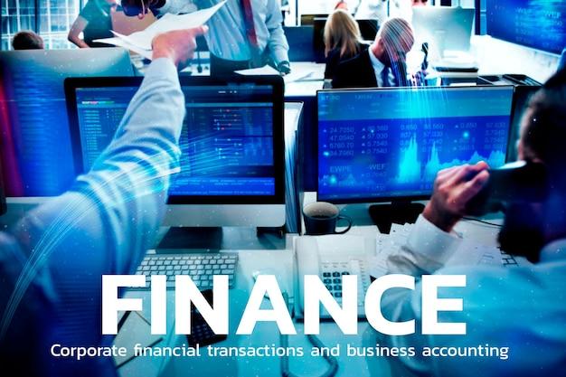 Finanztechnologie mit forex-trading-grafikhintergrund