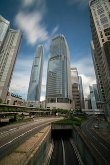 Finanzviertel von hongkong
