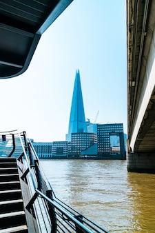 Finanzviertel von london city in großbritannien