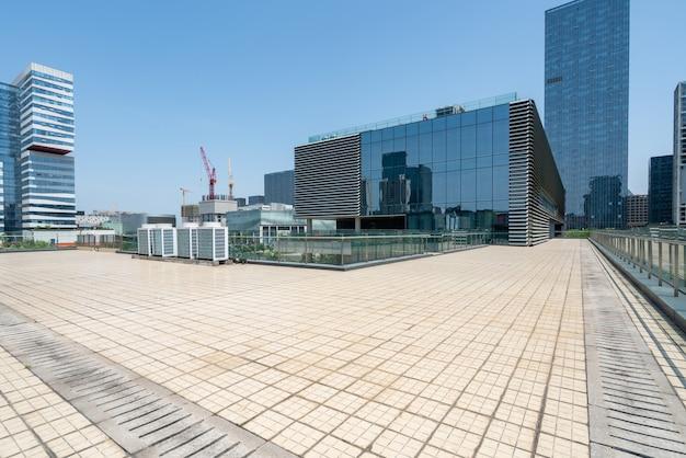 Finanzzentrum-bürogebäude in ningbo east new town, china