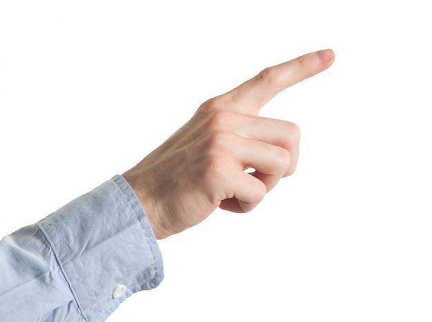 Finger auswählen