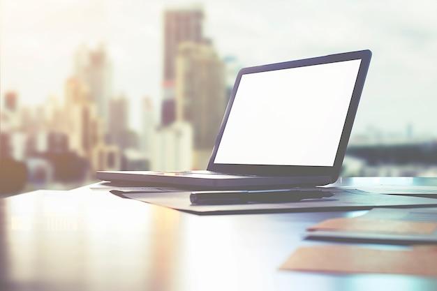 Firmeninformation hintergrund büro leader platz