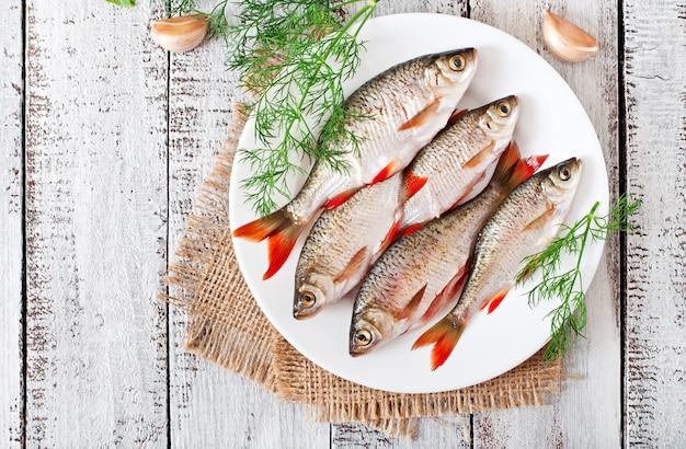 Fisch auf einem teller