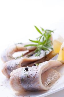 Fisch mit pfeffer, bälle