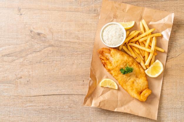 Fisch und pommes frites