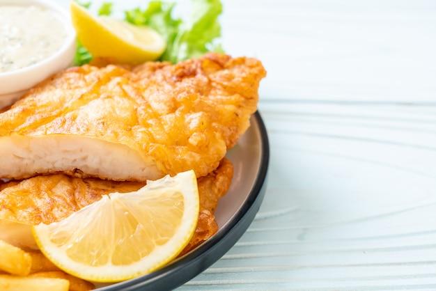 Fisch und pommes