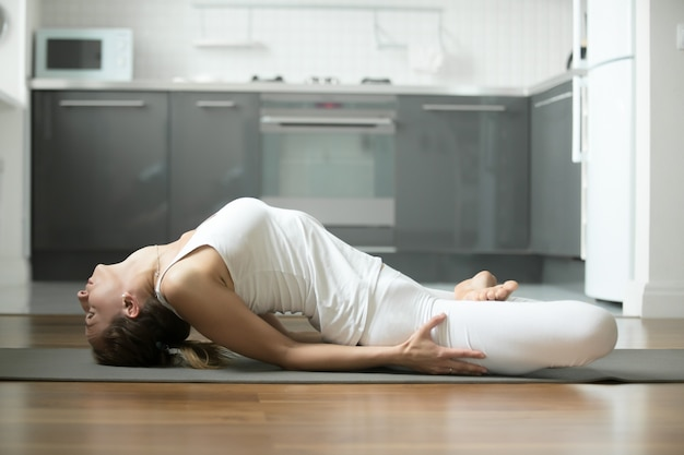 Fisch-yoga-pose