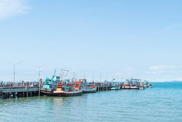 Fischerboot hafen