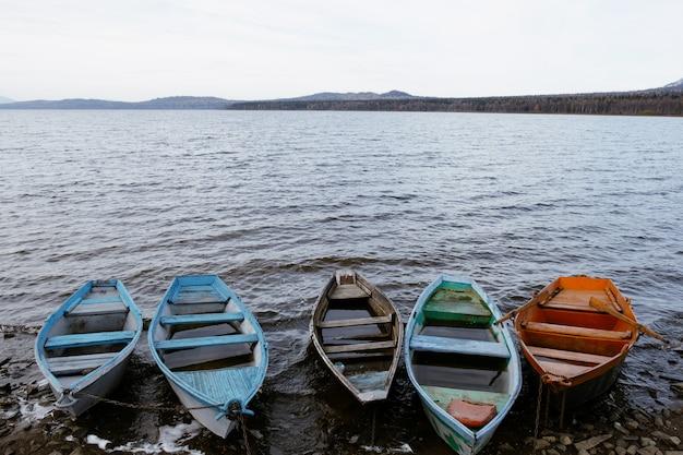 Fischerboote auf dem see
