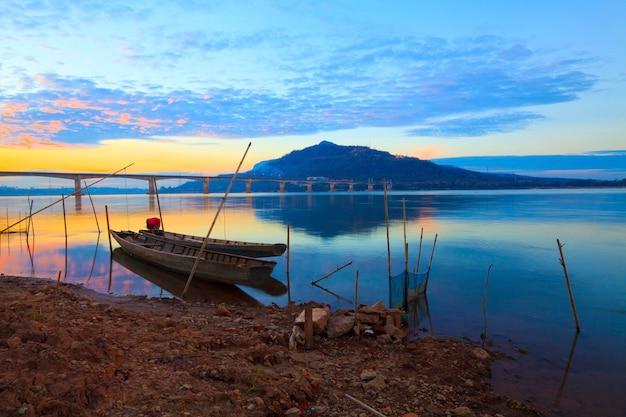 Fischerboote im mekong