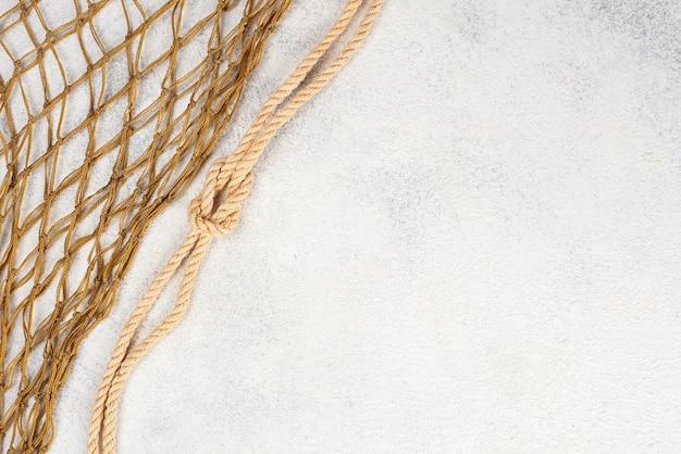 Fischernetz mit kopierraum