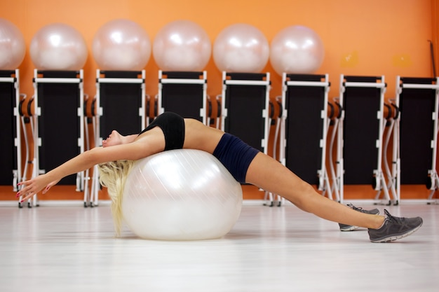 Fit ball workout
