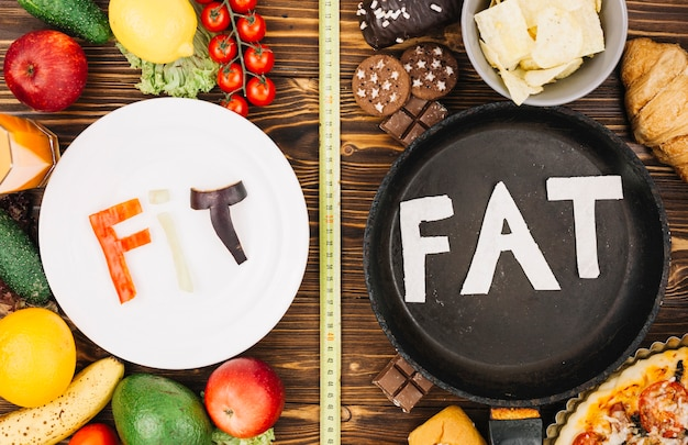 Fit gegen fett