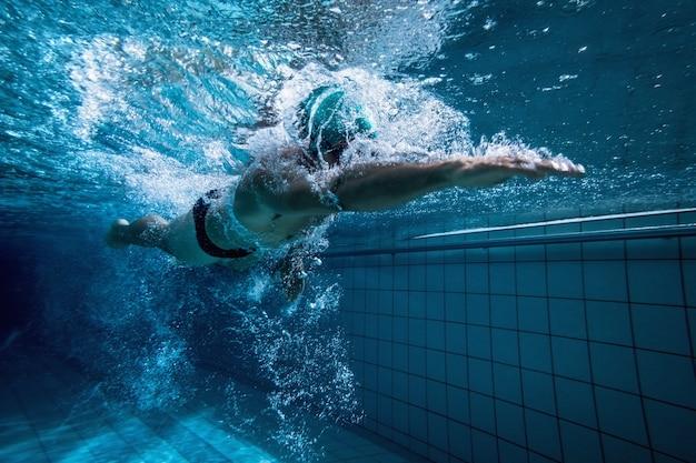 Fit schwimmertraining alleine