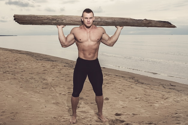 Fitness am strand